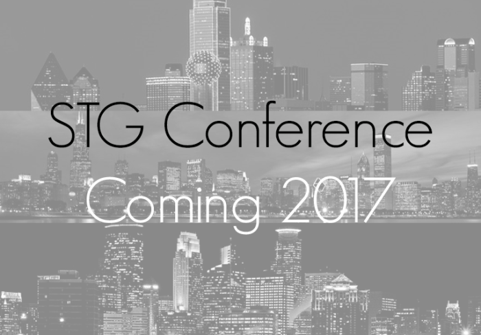 STG Conference 2017 Coming Soon
